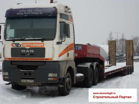 Тягач MAN TGA 33.530 Goldhofer STZ-TL 3-33/80